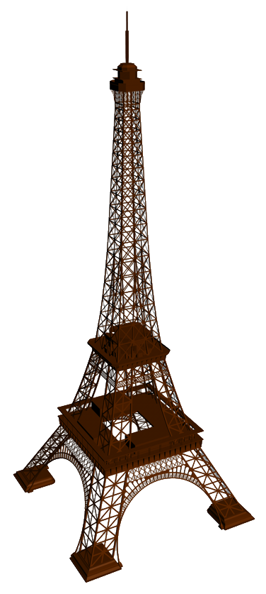 This Page Discusses How To Make A Simplified Model Of The Eiffel Tower From Three Sheets Paper I Will Give Reason For Exercise At End